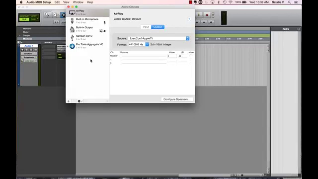 [ Tutorial ] ProTools First - No Sound on Mac? Use ProTools Aggregate