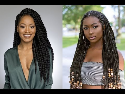 Braid Hairstyles For Black Women 2019 Youtube