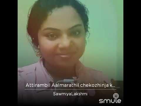 Aattirambil aalmarathil..... SawmiyaLakshmi.