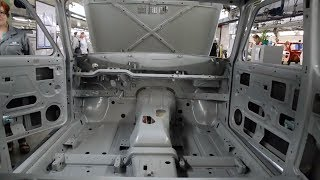 Как сейчас производится окраска кузова LADA 4х4 Modern Paintshop