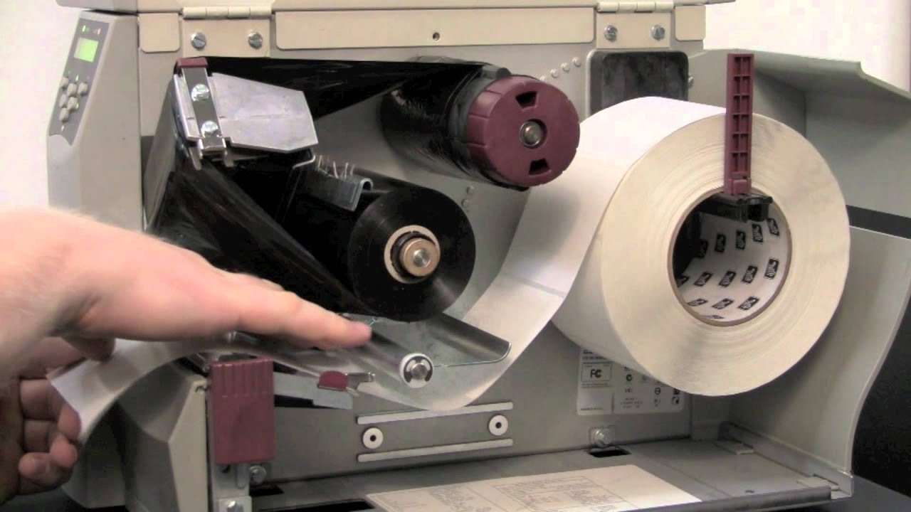 zebra s4m series manual calibration youtube rh youtube com Zebra S4M Label Printer Zebra S4M Printer Help