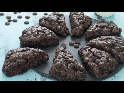 Download Youtube: Double Chocolate Scones Recipe