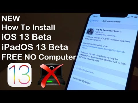 ios 13 beta download without computer
