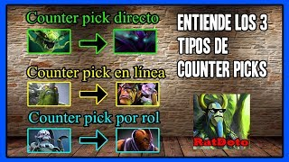 Los 3 tipos de counter picks en Dota 2