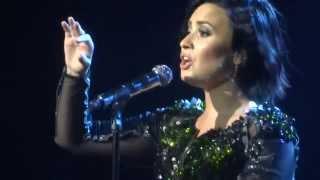 Demi Lovato Nightingale Melbourne 24/4/15