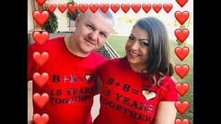 День святого Валентина.15 летняя годовщина свадьбы❤️