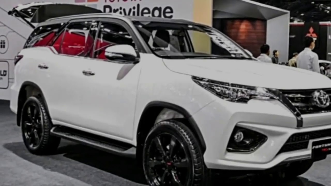 2017 2018 Toyota Fortuner The Best Saling Mid Size Suv