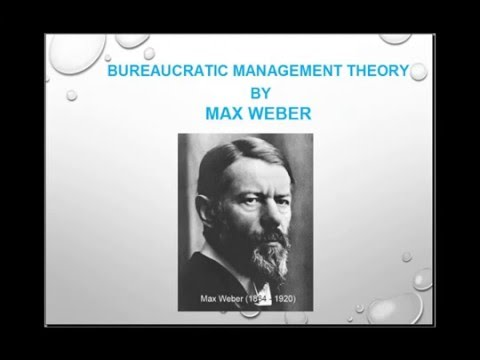 max weber bureaucracy Max weber's typology of authority and model of bureaucracy 1weber sought to develop a better understanding of the dynamics of social organization by focusing on how social control operates in different types of social contexts.