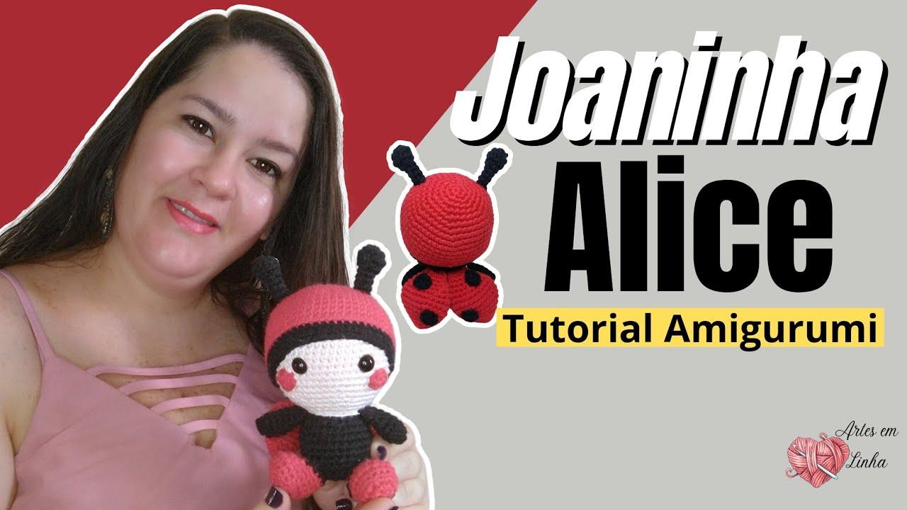 Joanina Passo a Passo | Joaninha de crochê, Brinquedos de crochê ... | 720x1280