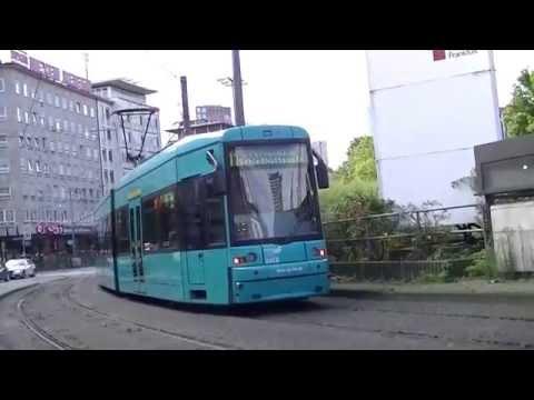 A minute at the Frankfurt  Hauptbahnhof Tram station (00511) hbf