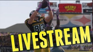 Madden NFL 13 - Destroying Madden D-Bags LIVESTREAM! (PS3)