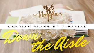 WEDDING PLANNING TIMELINE | Tips on how to stay on track