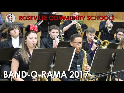 Roseville Community Schools Band-O-Rama 2017