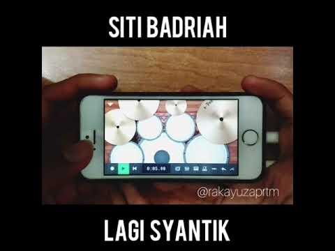 Siti Badriah - Lagi Syantik (Cover Drum) by n-track 9