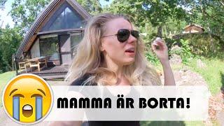 MAMMA ÄR BORTA! | vlog