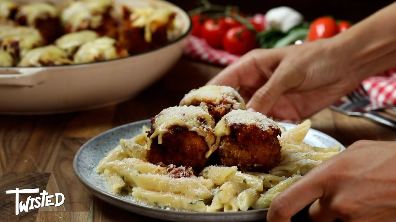 How To Make Chicken Parm Meatballs