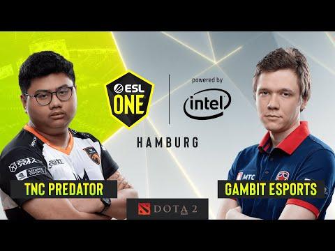 Dota2 - Gambit Esports Vs. TNC Predator - Game 2 - Upperbracket Final - ESL One Hamburg 2019