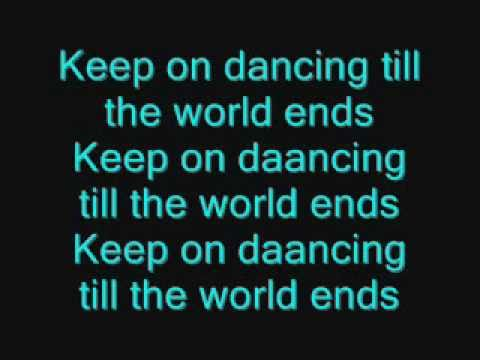 Karaoke Till The World Ends - Video with Lyrics - Britney ...