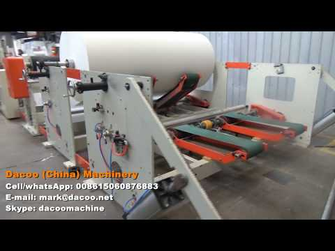 Maxi Jumbo Roll Toilet Paper Roll Machine Production Line