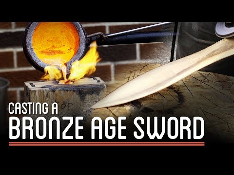 Casting a Bronze Sword