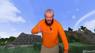 ( GREENSCREEN ) PewDiePie In Minecraft **CRINGE**