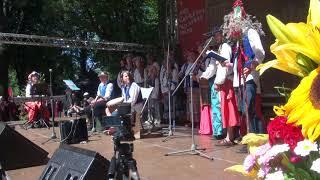 00161 Folkloras koris KARIOLLE (Vācija) Ārvalstu viesu kolektīvu koncertā Vērmanes dārzā 8.07.2018