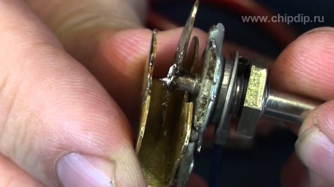 Подстроечный конденсатор своими руками фото 42
