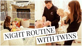 Night Routine with 11 Month Twin Girls | Kendra Atkins