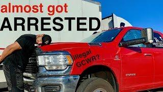 Almost got arrested - Hotshot Trucking