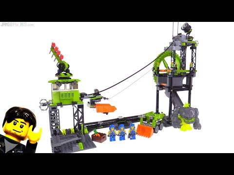LEGO Power Miners Underground Mining Station From 2009! Set 8709