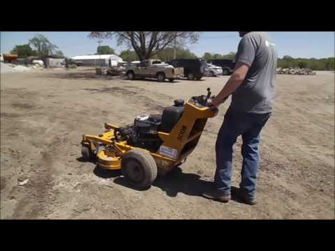 Hustler Trimstar lawn mower for sale | no-reserve Internet auction May 24, 2017