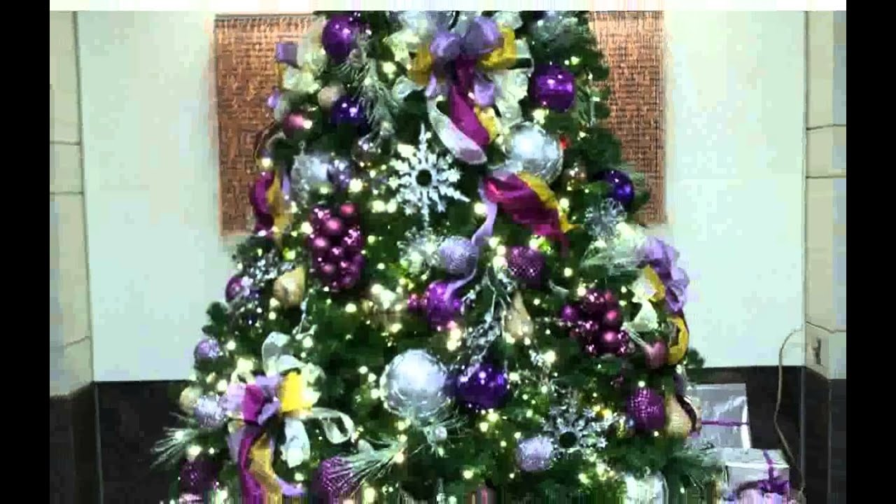 blue and purple christmas decorations decoration new youtube. Black Bedroom Furniture Sets. Home Design Ideas