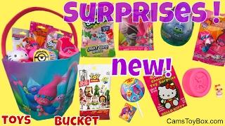 Toy Surprises Story Minis Blind Bags Trolls Surprise Eggs Powerpuff Girls Shopkins Num Noms Lights