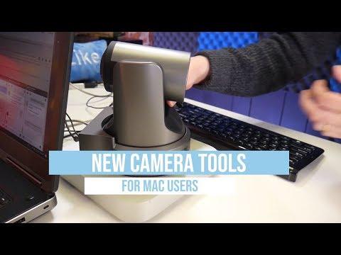 New MAC Camera Software Tools