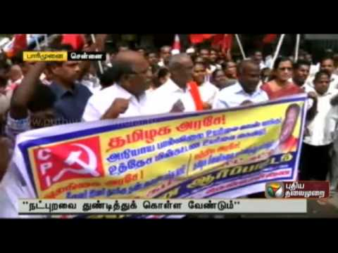 Milk price hike to hide the irregularities in Aavin management- D. Pandian State secretary CPI