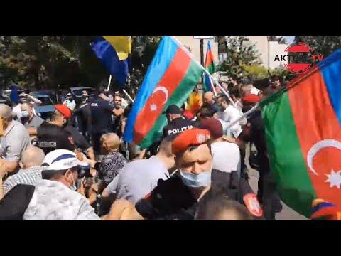Очередное столкновение между азербайджанцами и армянами