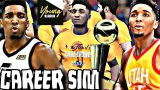 DONOVAN MITCHELL NBA CAREER SIMULATION ON NBA 2K18!!! A FUTURE HALL OF FAMER?!?