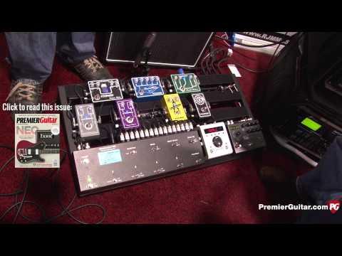 NAMM '15 - RJM Music Technology Mastermind PBC Switcher Demo