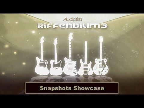 Audiofier RIFFENDIUM 3 - Snapshots Showcase