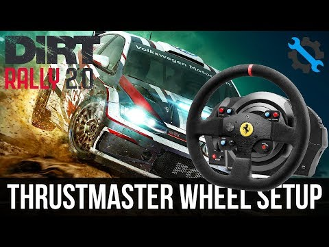 DiRT Rally 2.0 | Force Feedback Wheel Settings & FIX! (Thrustmaster)