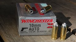 10mm Winchester Silvertip Ammo Test