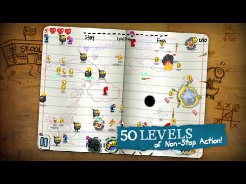 Scribble Hero Game Trailer thumbnail