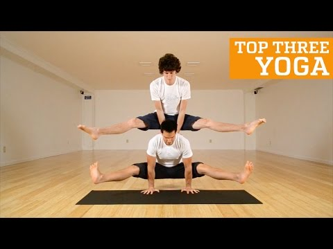 TOP THREE AMAZING YOGA ROUTINES | PEOPLE ARE AWESOME