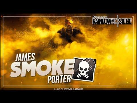 Conheça a História Completa do James Porter (SMOKE)!! - Rainbow Six: Siege Operation History
