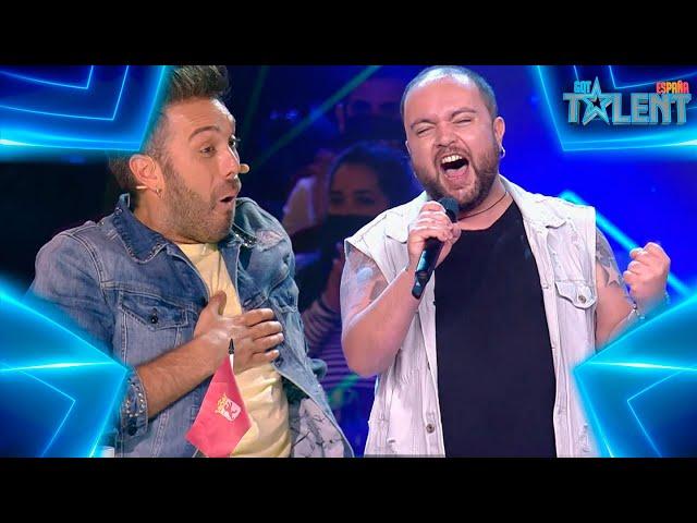 El SHOW HEAVY de este LEONÉS con un tema de QUEEN | Audiciones 7 | Got Talent España 7 (2021)