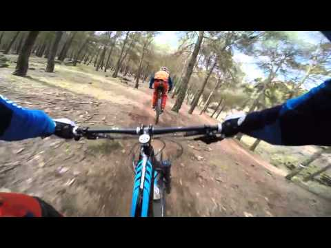Greg Minnaar test track crash