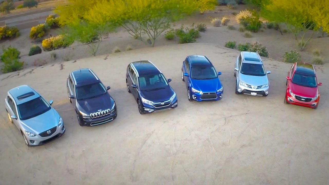 2015 Compact SUV Comparison - Kelley Blue Book - YouTube
