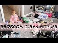 CLEAN WITH ME // MESSY BEDROOM EDITION