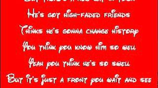 Cars-Real Gone Lyrics