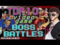 Top 10 Video Game Boss Battles
